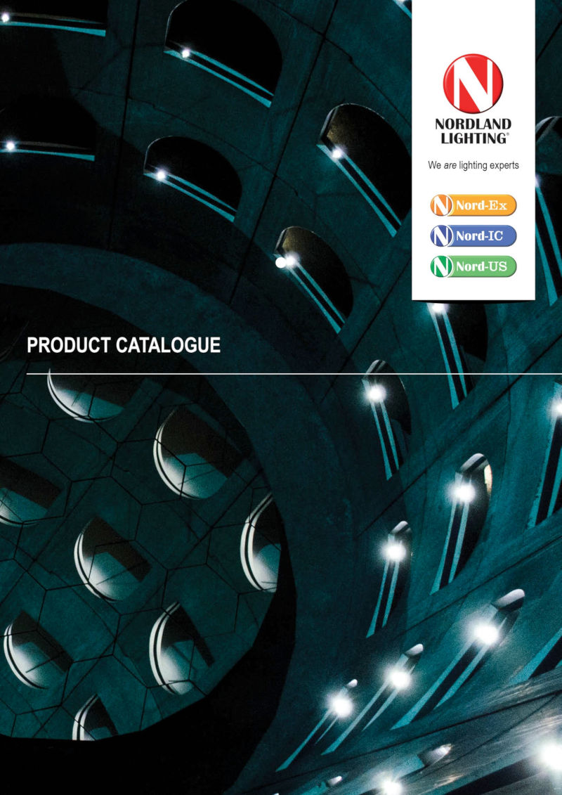 nordland lighting product catalogue